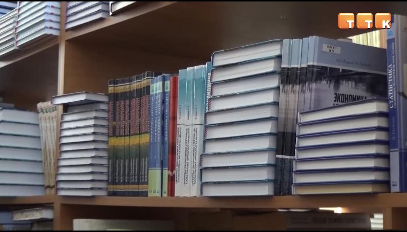 Книги – в дар библиотеке